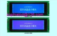 Free Shipping 1pcs LCD 240x64 24064 LCD Display Graphic Module Blue Green FSTN Black White T6963