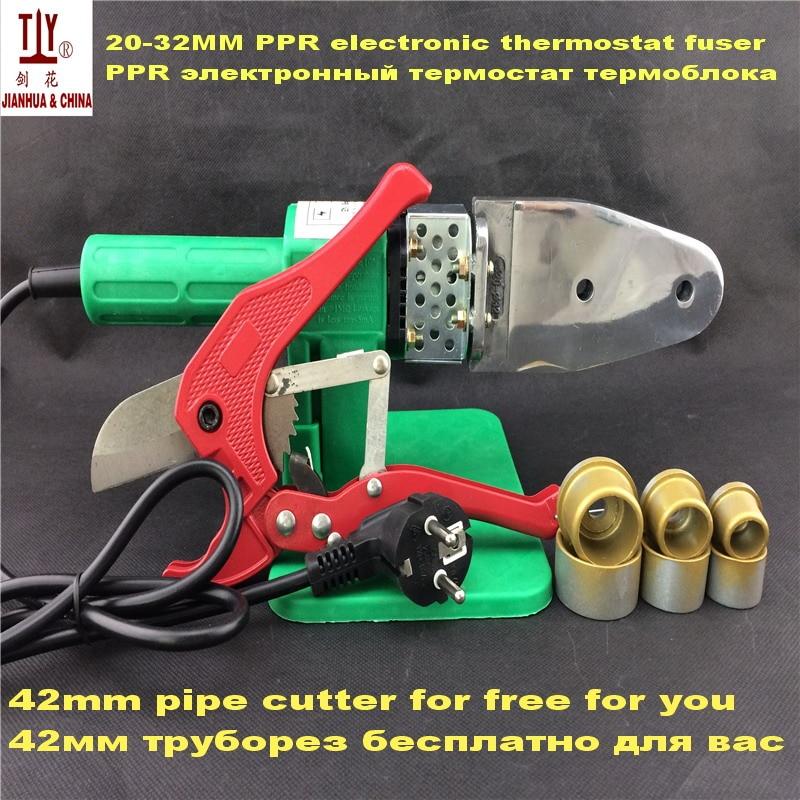 Ppr трубы сварочный аппарат 20-32 мм для использования с пластиковой ручкой AC 220/110V 600W сантехнические инструменты универсальные