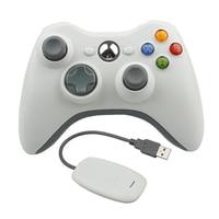 Bán Hot 2.4 Gam Điều Khiển Không Dây cho Xbox 360 Trò Chơi Joystick Gamepad Controle Với PC Reciever Đối Với Microsoft PC cho Windows 7/8