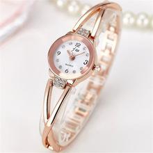 New Fashion Rhinestone Watch For Women Elite Brand Stainless Steel Bracelet Watch Ladies Quartz Dress Watch Reloj Mujer ac070