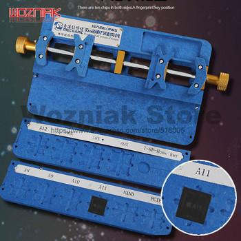 Mechanik telefon komórkowy płyta główna konserwacja fixtureor dla iphone A8 A9 A10 A11 A11 PCIE NAND uniwersalny zacisk naprawczy tanie i dobre opinie wozniak Obróbka metali Przypadku Połączenie Zestaw narzędzi do komputera MECHANIC Universal fixture