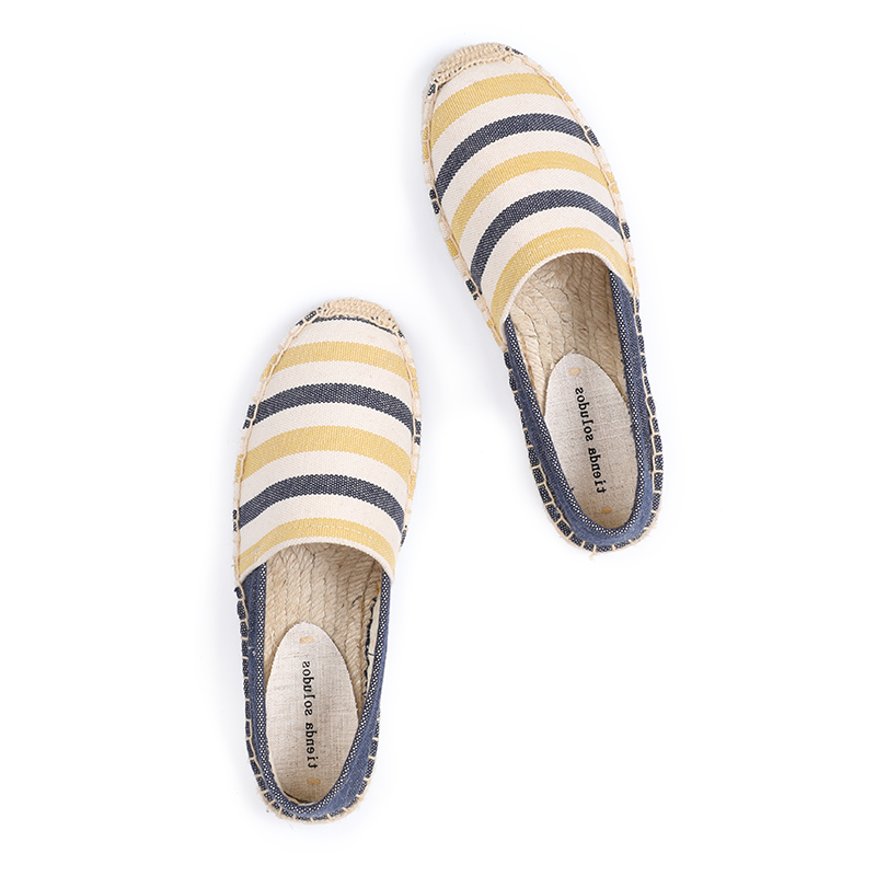Tienda Soludos Shoes Woman Espadrilles Promotion Direct Selling Canvas D'orsay Flats Gingham Zapatillas Mujer Casual Sapatos