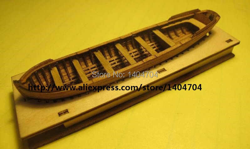 NIDALE model Free shipping 1/75 plnance Lifeboat model kit Classic HMS surprise Battleship model Lifeboat