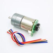 С энкодером все металлические шестерни DC мотор-редуктор код колеса измерения скорости тележки робот
