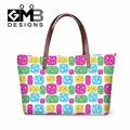 Women Hand bag Appliques girls Personalized Shoulder Handbags,Flower Large tote bags for Ladies,girly handbag organizer insert
