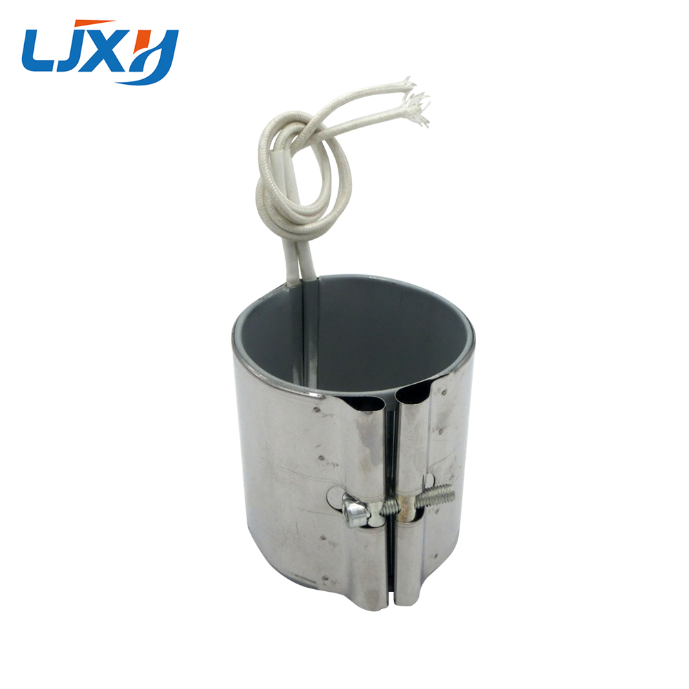 LJXH Band Heater Element 220V 70x30mm/35mm/40mm/45mm Stainless Steel Heating Wattage 200W/230W/260W/300W Line Length 30cm ljxh w type electric finned tubular heat pipe m18 16 25 w shape fin heating element 220v 1500w 2000w 2000w 201 stainless steel
