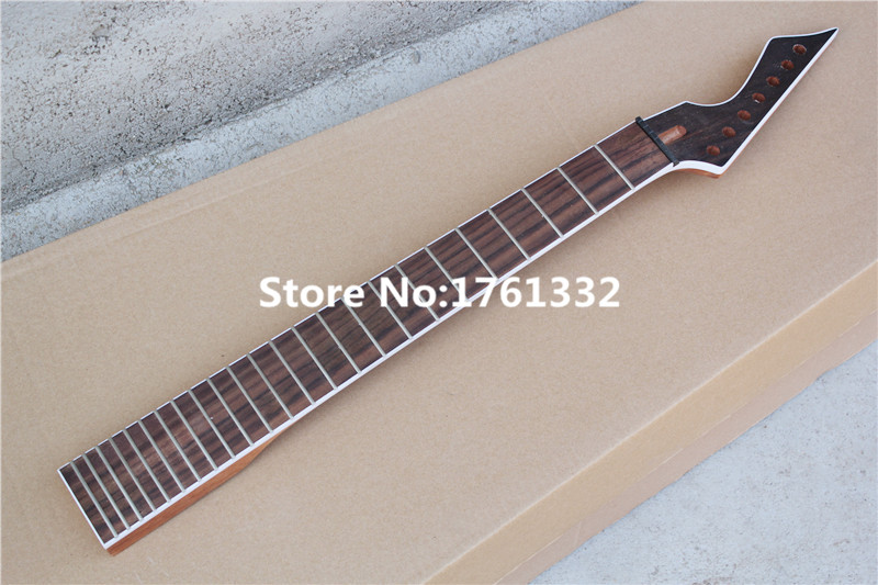 factory custom diy 24 frets 7 strings electric guitar neck with rosewood fingerboard mahogany. Black Bedroom Furniture Sets. Home Design Ideas