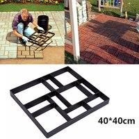40x40 cm Pavimentación Pavimento de Piedra Pathmate Molde Extendedora de Hormigón Del Molde