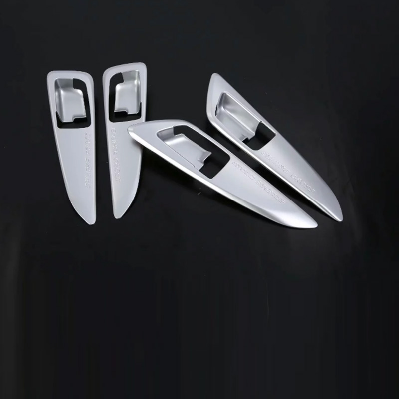 Car Accessories Interior Decoration LHD ABS Side Inner Door Handle Cover For Mitsubishi Eclipse Cross 2018 Car styling in Interior Mouldings from Automobiles Motorcycles