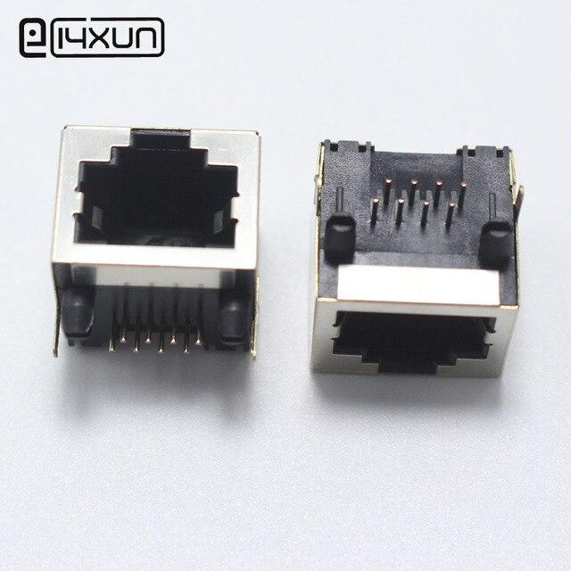 Aliexpress.com : Buy 2pcs RJ45 Network jack 8P Modular Network PCB ...