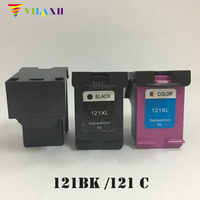 Vilaxh 121xl Compatible Ink Cartridge Replacement for HP 121 xl For Deskjet 2050 1050 F2560 F2568 F4280 F4238 F5150 Printer