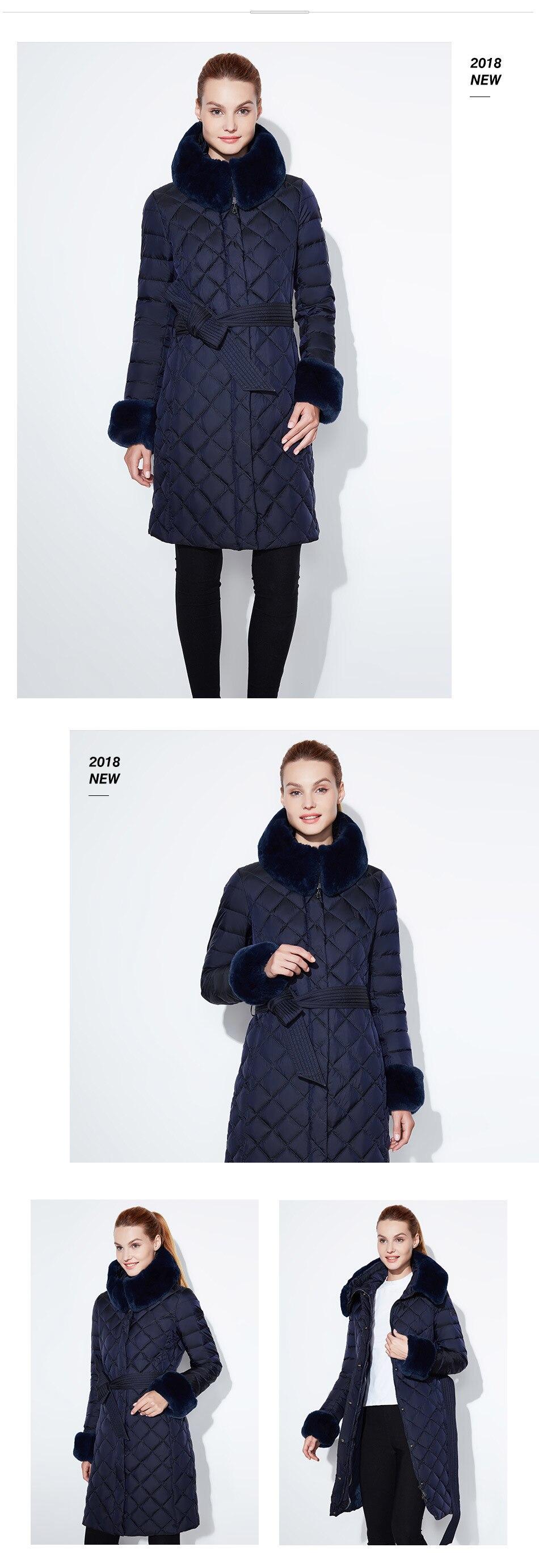 Neve clássico jaqueta feminina casaco de pele
