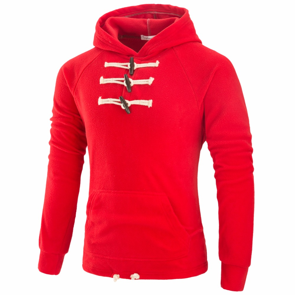 Hoodies Sweatshirt Pullover Tracksuit Men Slim-Fit Long-Sleeve Fashion Horn XXXL Decorate