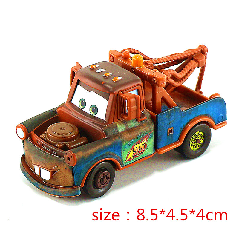 Disney Cars Mobilization Alloy Car Model Toy 1:55 Mater The King Japanese Racing Lightning McQueen Chick Hicks His Friends