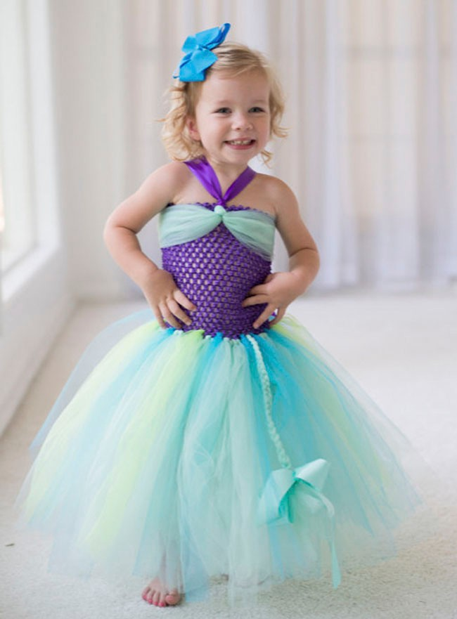 Disney Inspired Princess Tutu Dress Cinderella Snow White Mermaid Pocahontas Rapunzel Inspired Princess Birthday21