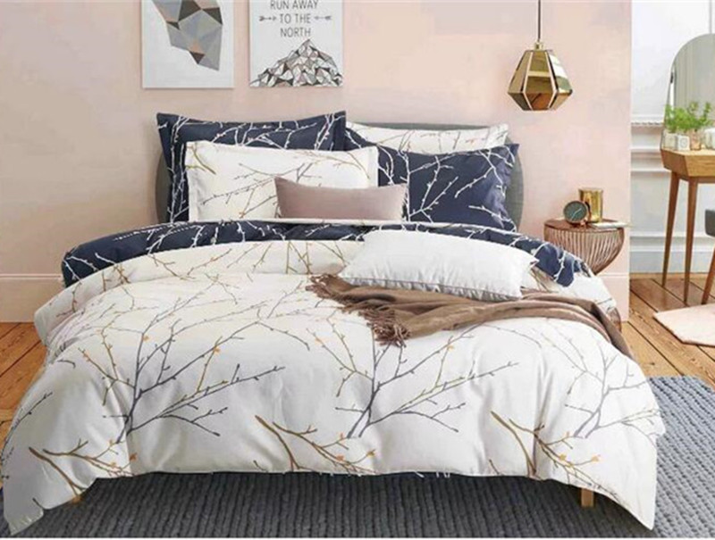Brief Europe Tree Branches Pattern Luxury Style High Quality