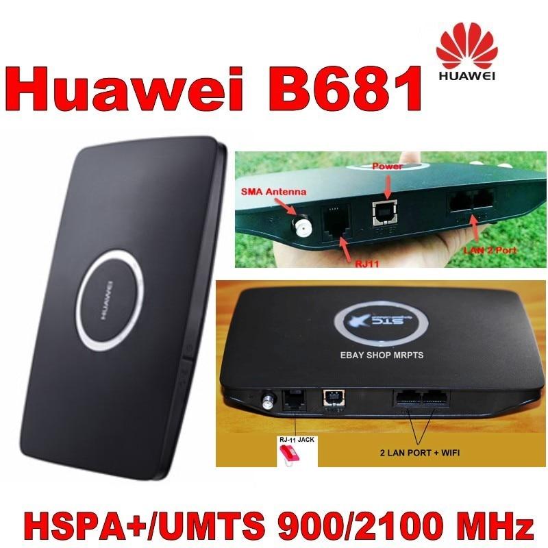 გახსნილი Huawei B681 HSDPA 3G Mibile Broadband Wifi - ქსელის აპარატურა - ფოტო 2