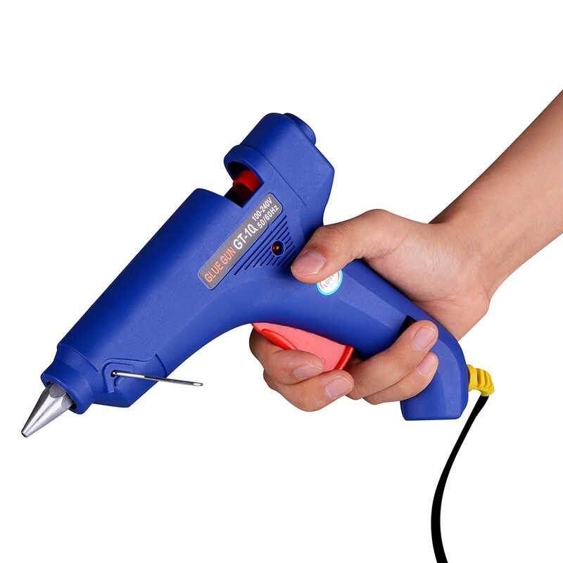 Супер PDR 100 Вт термоплавкий клеевой пистолет 100-240 В Электрический термотемпературный инструмент подходит для 11 мм клеевой карандаш EU AU UK конверсионная вилка