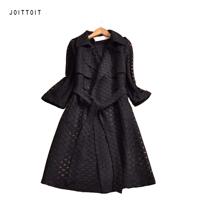 Online Buy Wholesale black spring coat from China black spring ...