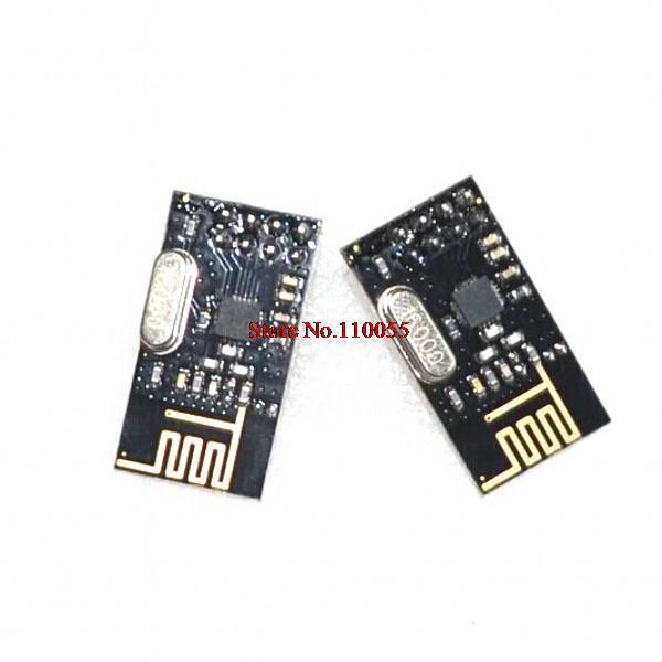10pcs/lot NRF24L01 NRF24L01+ Wireless Module 2.4G Wireless Communication Module Upgrade Module