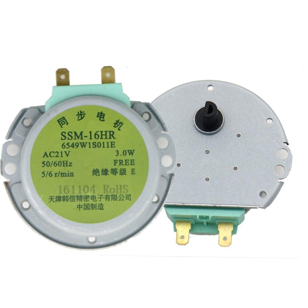 Microwave Motor SSM-16HR  3W  5//6 rpm//min   Synchronous Motor