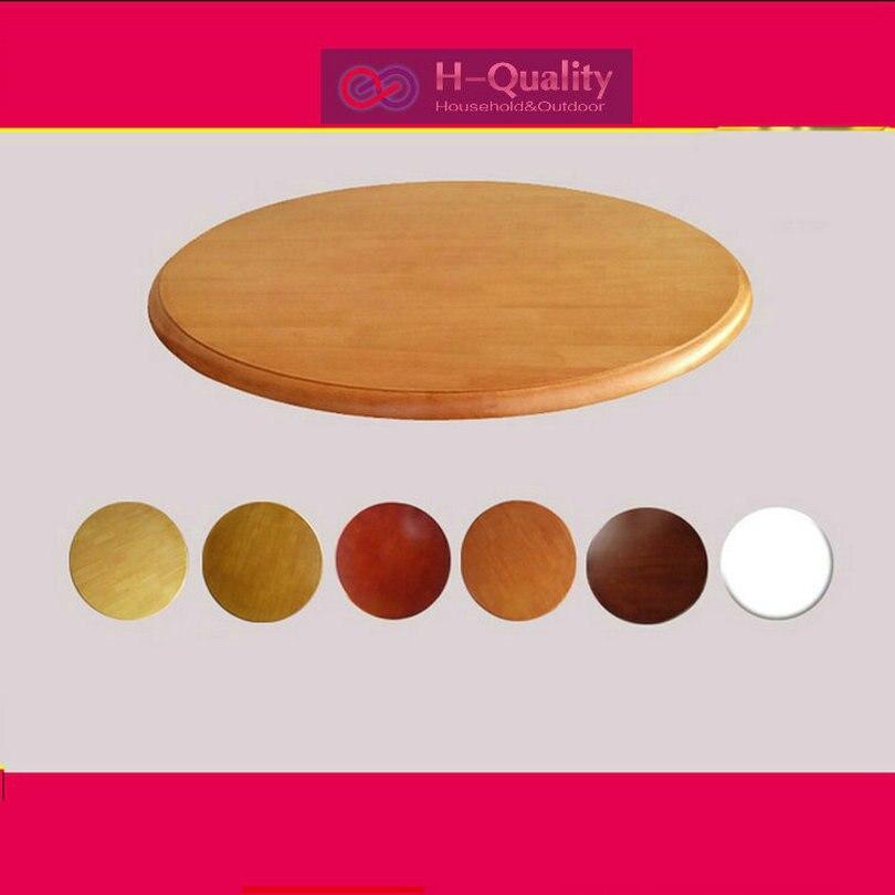 HQ SW 600 мм/24 дюйма Dia твердой древесины дуба тихий гладкой lazy susan вращающийся поднос деревянный стол обеденный ...