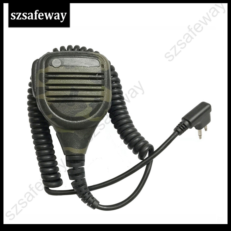 Walkie Talkie Camouflage Remote Speaker Microphone For Motorola CP160 EP450 GP300 GP68 GP88 CP88 CP040 CP100 CP125 CP140