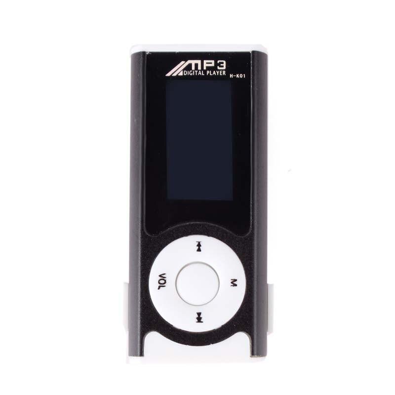 Egizmo Mini Clip Usb Lcd Mp3 Musik-player Unterstützung 16 Gb Micro Sd Tf Karte Mit Led Licht #66310 GüNstige VerkäUfe Hifi-geräte