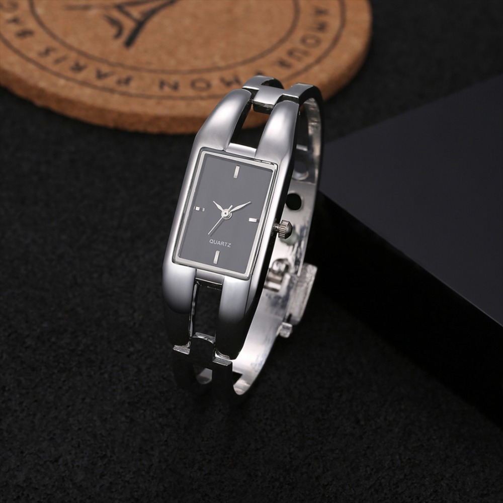 Hollow Out Bracelet Wrist Watch Fashion Ladies Watch Full Steel Women's Watches Women Watches Clock relogio feminino reloj mujer summer color block fake pocket shirt collar short sleeves button down shirt for men