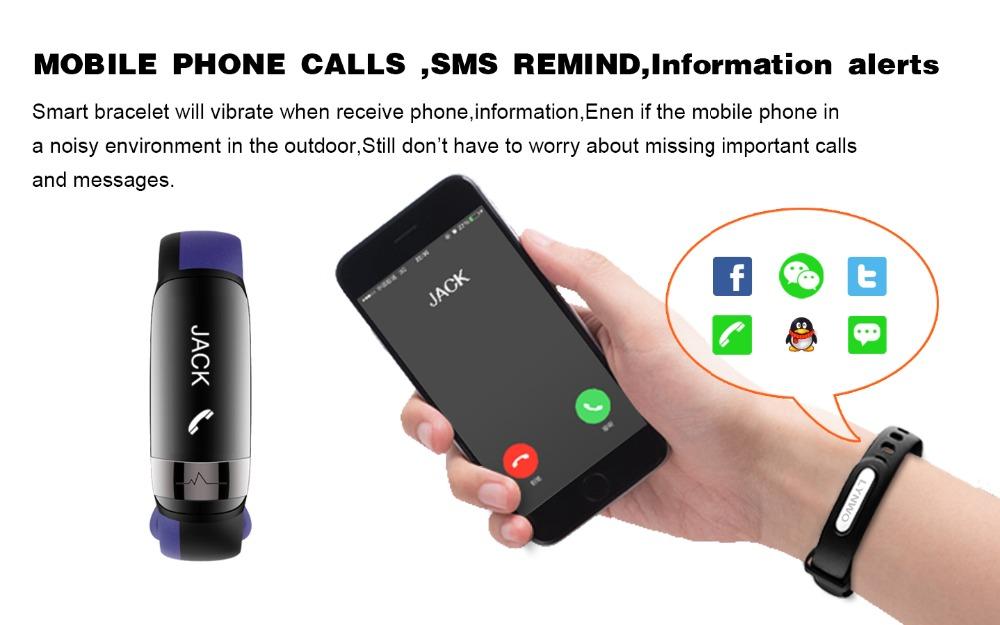 HUINIU Sport Smart Band Waterproof Bluetooth Bracelet Activity Tracker Heart Rate Monitor Smartband Message Reminder Wristbands 5