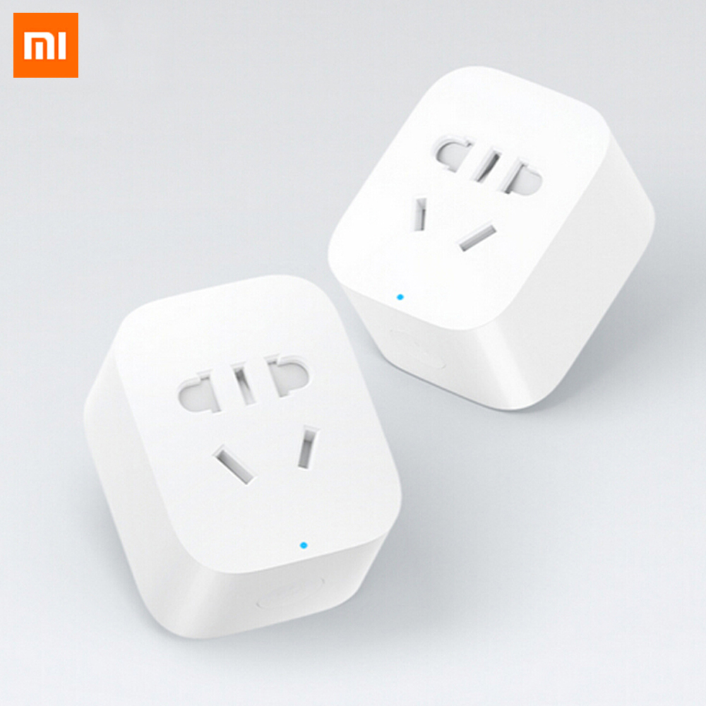 new 100 original in stock xiaomi smart plug wifi phone. Black Bedroom Furniture Sets. Home Design Ideas
