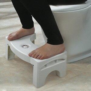 Image 5 - Składane kucki stołek antypoślizgowe wc stóp stołek nocnik podnóżek wc stołek