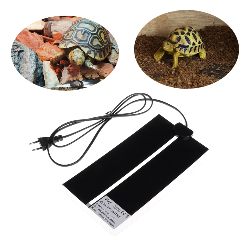 Top Quality Heat Mat Reptile Brooder Incubator Pet Heating Pad Brew Eu Plug 7w 14w 20w 28w Oct23