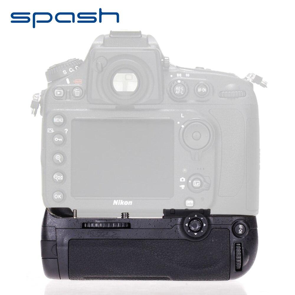 spash Multi-power Vertical Battery Grip for Nikon D800 D810 D800E DSLR Cameras Replacement MB-D12 Work with EN-EL15