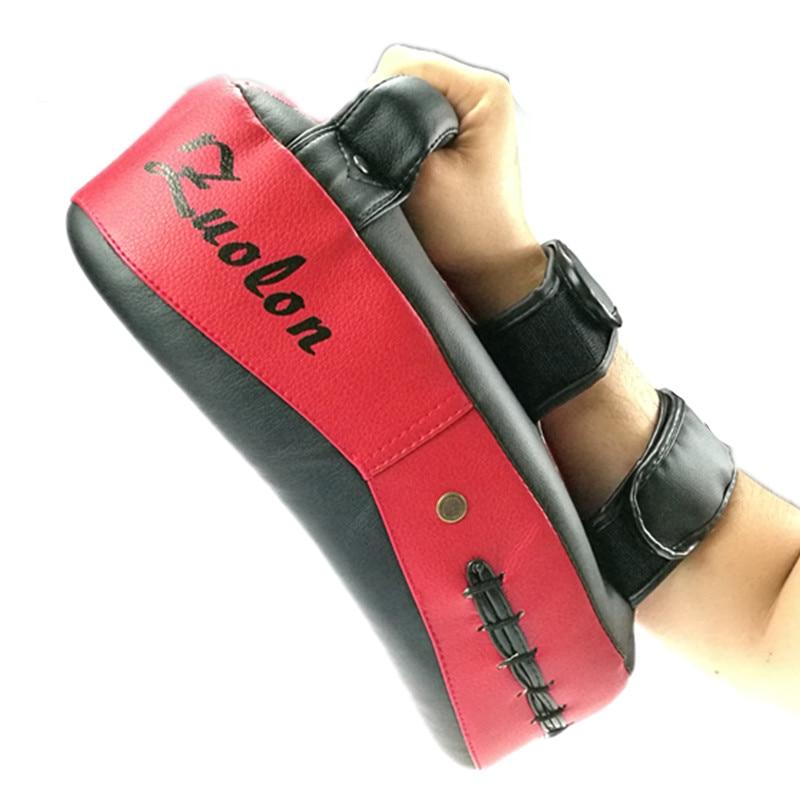 Kick Boxing Strike Target Arm Pad MMA Focus Karate Muay Thai Punch Shield Sponge