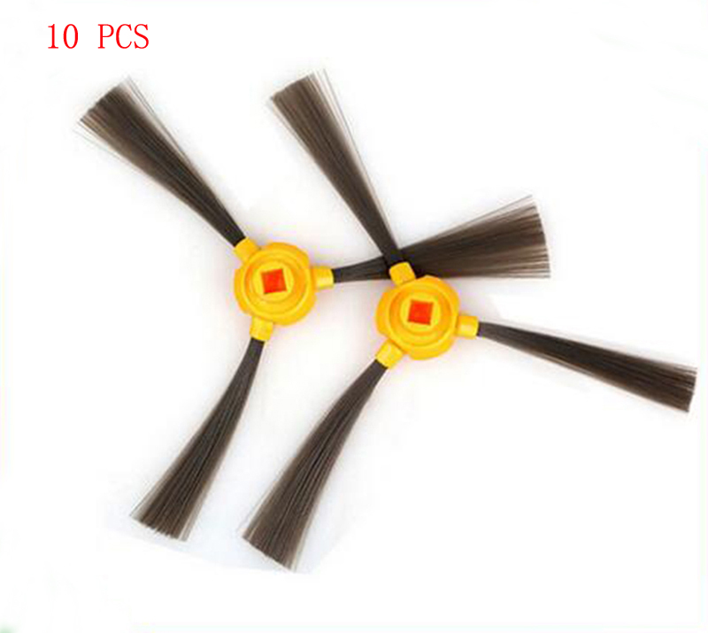 10pcs side brush for Ecovacs CEN350 DEEBOT TCR03A TCR03B TCR660 TCR266 Vacuum cleaner Replacement Parts 5x ecovacs hepa filter and 5x fine filtration cotton replacement for d36a tek tcr s tcr s2 tcr660 m1