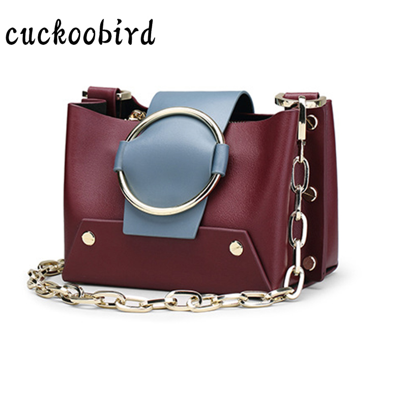 Genuine Leather Small Women Rivet Crossbody Bag for Girl Brand Female Handbags Ladies Messenger Bags Leather Shoulder Bags genuine leather studded satchel bag women s 2016 saffiano cute small metal rivet trapeze shoulder crossbody bag handbag