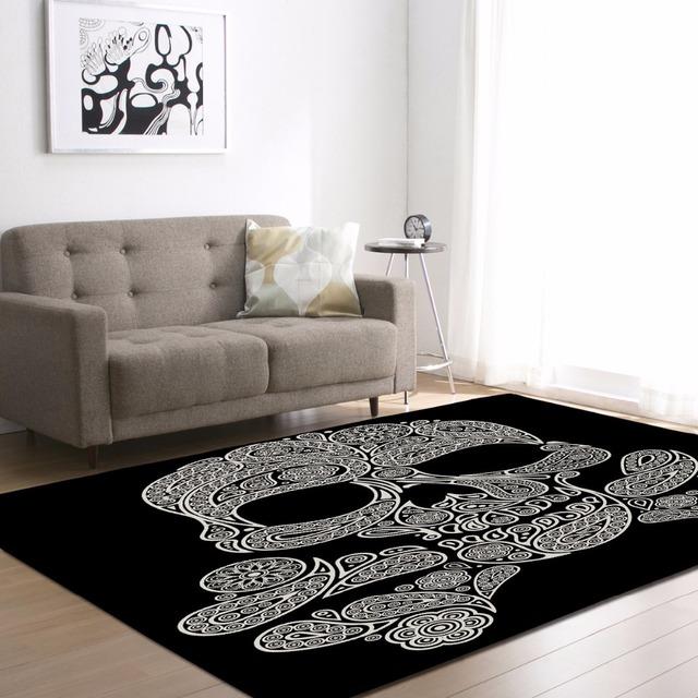 Skull  Carpet, Play Mat, Bedside Rug