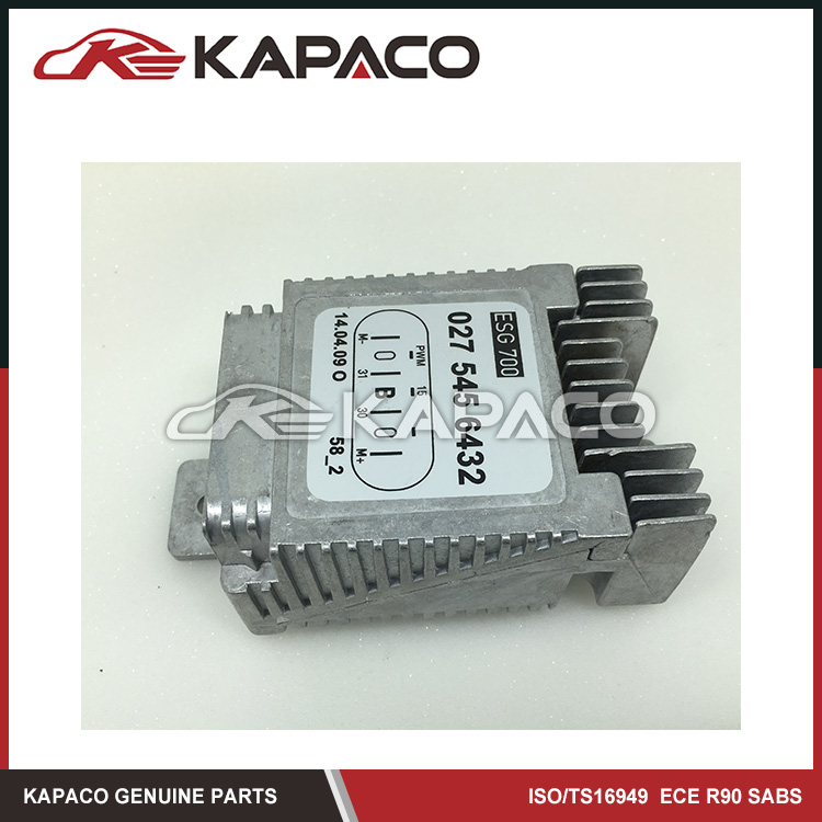 ФОТО Cooling Fan Control Module For Mercedes-Benz W220 S500 S430 CL500 OEM 0275456432  A0275456432  A 027 545 64 32
