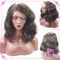 New Wavy Bob Wigs Synthetic Lace Front Wig Short Brown Wigs For Black Women Cheap Brown Glueless Lace Front Synthetic