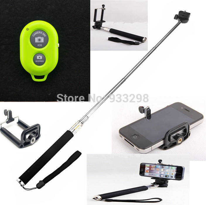 Selfie Rotary Extendable Handheld Camera Tripod Mobile phone ...