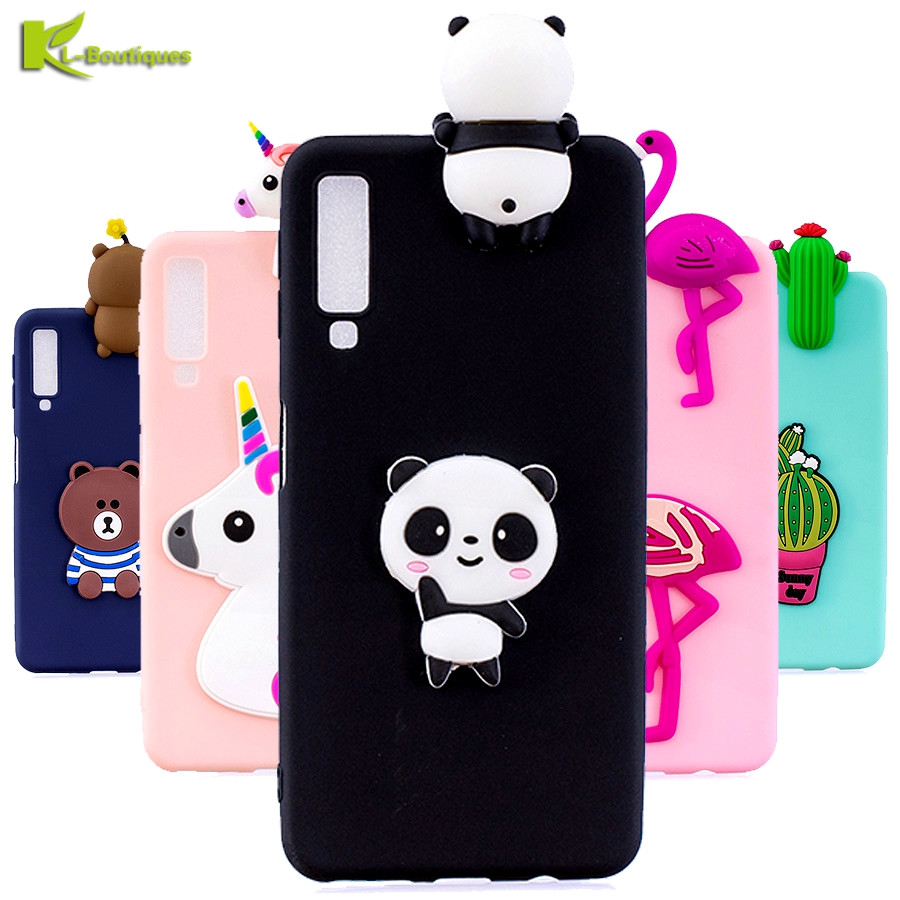 A7 2018 Case On For Samsung Galaxy A7 2018 A750 Case Soft 3d Diy Dolls Toy Phone Cases Sfor Fundas Samsung Galaxy A7 2018 Cover Superior (In) Quality
