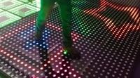 1 светодио дный шт./лот, новый этап интерактивные LED танцпол свет Китай Для Дискотека ночной клуб DJ Бар вечерние партии Свадебные украшения Т