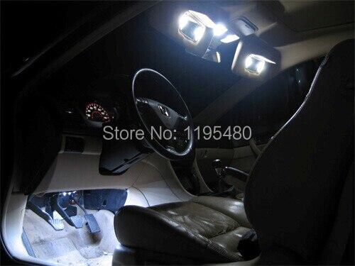 10 шт. X Xenon Белый светодиодный комплект внутреннего освещения для 1995-2001 Acura Integra