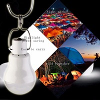20W 150LM Portable Solar Power LED Bulb Solar Powered Light Charged Solar Energy Lamp Outdoor Lighting