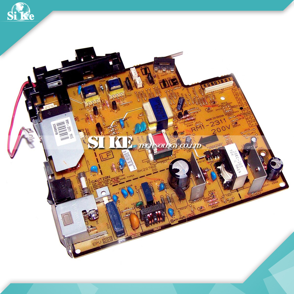 LaserJet Printer Engine Control Power Board For HP 1022 1022N RM1-2311 RM1-2310 HP1022 HP1022N Voltage Power Supply Board flora printer high voltage switch board for lj320p printer