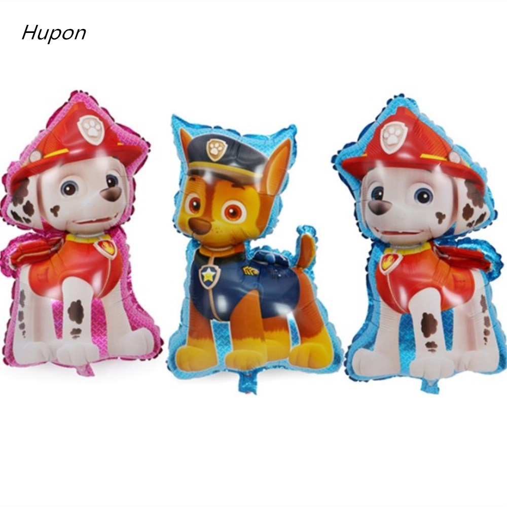 10pcs Big Dogs Patrol Balloon Kids Birthday Party Chase Skye Helium Foil Baloons Children Party Decoration Balloons Accessories ...