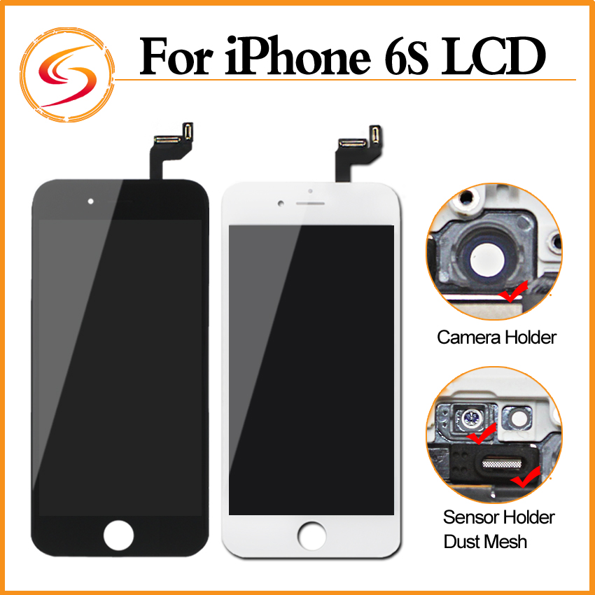Prix pour 10 PCS/LOT 100% Véritable AAA + + + Pour iphone 6s LCD Assemblée Avec 3D Écran Tactile D'affichage Remplacement Aucune Dead Pixel Livraison gratuite