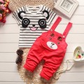 BibiCola summer children clothes baby boys girls clothing sets cartoon suits kids autumn underwear short t shirt+ Bib pants