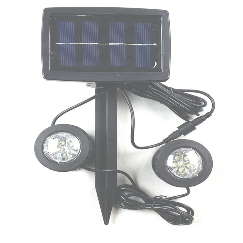 solar powered underwater lights lawn garden courtyard plug. Black Bedroom Furniture Sets. Home Design Ideas